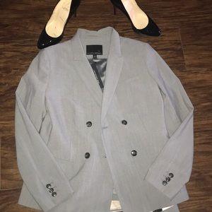 Banana republic gray lightweight wool suit 2